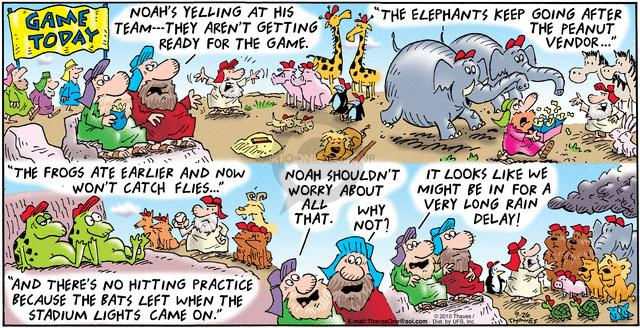 Comic Strip Bob Thaves Tom Thaves  Frank and Ernest 2010-09-26 storm