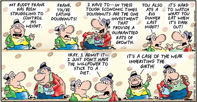 Comic Strip Bob Thaves Tom Thaves  Frank and Ernest 2010-10-24 investment