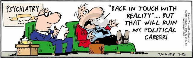 Comic Strip Bob Thaves Tom Thaves  Frank and Ernest 2011-02-18 career counseling