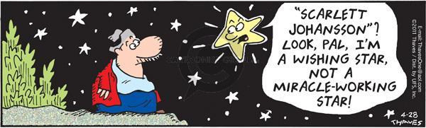 Cartoonist Bob Thaves Tom Thaves  Frank and Ernest 2011-04-28 star