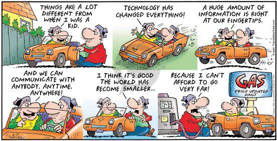 Comic Strip Bob Thaves Tom Thaves  Frank and Ernest 2011-06-19 high-tech