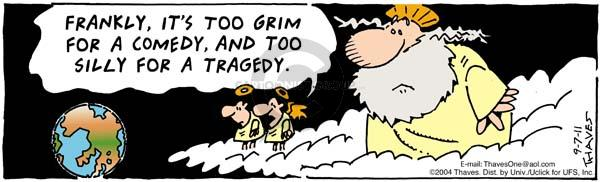 Frankly, its too grim for a comedy, and too silly for a tragedy.