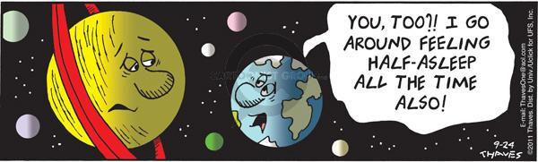 Comic Strip Bob Thaves Tom Thaves  Frank and Ernest 2011-09-24 revolution