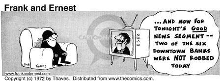 Cartoonist Bob Thaves Tom Thaves  Frank and Ernest 1972-11-08 news