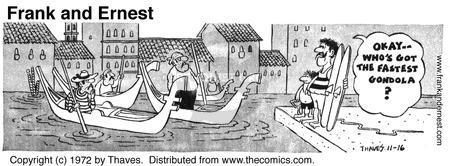 Comic Strip Bob Thaves Tom Thaves  Frank and Ernest 1972-11-16 Europe travel