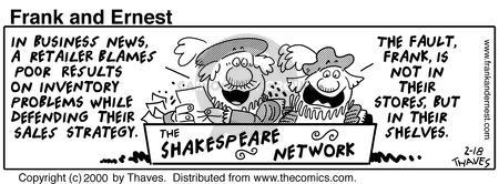 Cartoonist Bob Thaves Tom Thaves  Frank and Ernest 2000-02-18 phrase