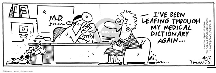 Comic Strip Bob Thaves Tom Thaves  Frank and Ernest 2000-04-12 inform