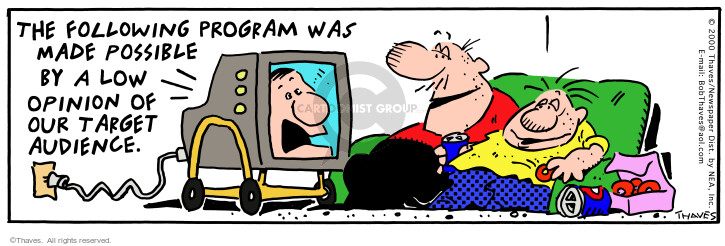 Comic Strip Bob Thaves Tom Thaves  Frank and Ernest 2000-05-30 program