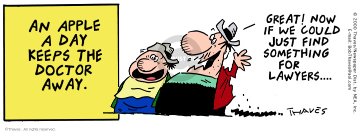 Cartoonist Bob Thaves Tom Thaves  Frank and Ernest 2000-08-12 phrase
