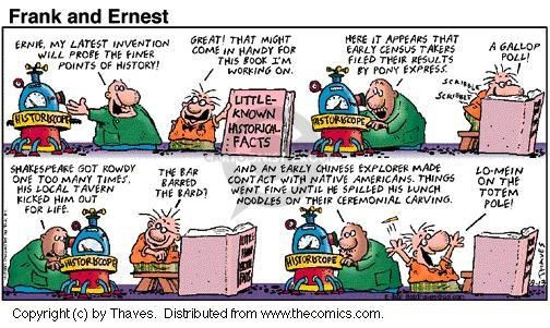 Comic Strip Bob Thaves Tom Thaves  Frank and Ernest 2000-08-13 file