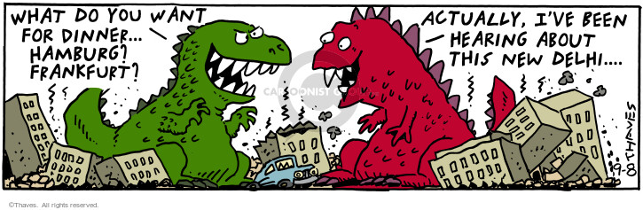 Cartoonist Bob Thaves Tom Thaves  Frank and Ernest 2000-09-08 appetite