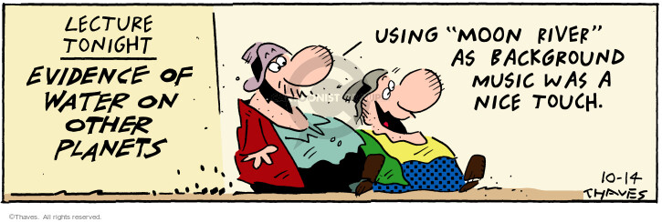 Comic Strip Bob Thaves Tom Thaves  Frank and Ernest 2000-10-14 find
