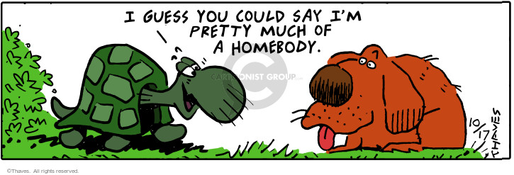 Comic Strip Bob Thaves Tom Thaves  Frank and Ernest 2000-10-17 turtle