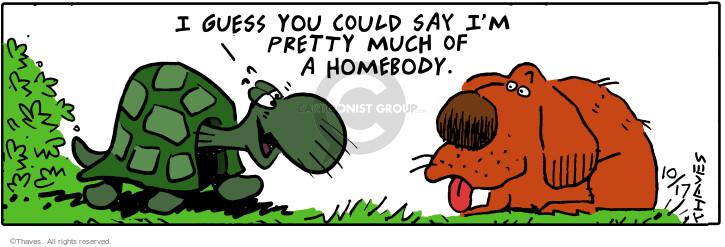 Cartoonist Bob Thaves Tom Thaves  Frank and Ernest 2000-10-17 habitat
