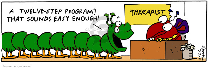Comic Strip Bob Thaves Tom Thaves  Frank and Ernest 2000-11-22 program