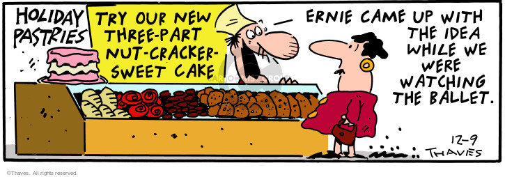 Comic Strip Bob Thaves Tom Thaves  Frank and Ernest 2000-12-09 inspiration