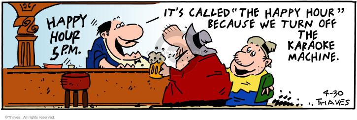 Comic Strip Bob Thaves Tom Thaves  Frank and Ernest 2001-04-30 sound