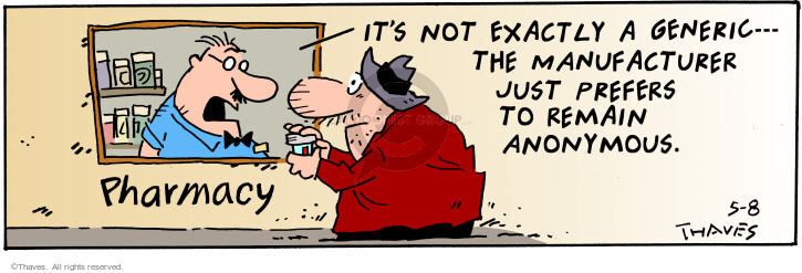 Comic Strip Bob Thaves Tom Thaves  Frank and Ernest 2001-05-08 customer
