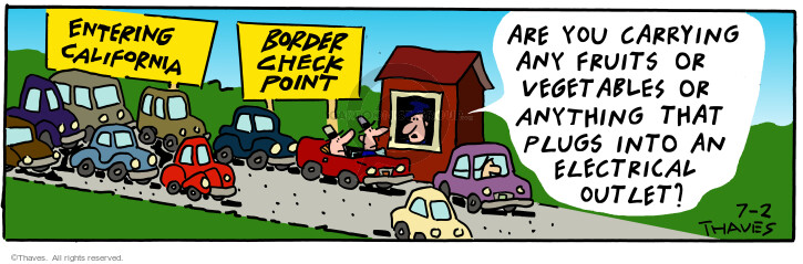 Cartoonist Bob Thaves Tom Thaves  Frank and Ernest 2001-07-02 border