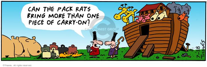 Cartoonist Bob Thaves Tom Thaves  Frank and Ernest 2001-07-28 pack