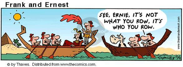 Comic Strip Bob Thaves Tom Thaves  Frank and Ernest 2001-11-09 ancient Egypt