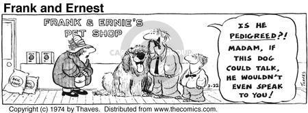 Comic Strip Bob Thaves Tom Thaves  Frank and Ernest 1974-02-22 speak