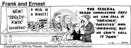 Comic Strip Bob Thaves Tom Thaves  Frank and Ernest 1974-11-12 meeting