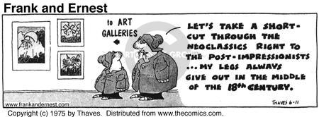 Comic Strip Bob Thaves Tom Thaves  Frank and Ernest 1975-06-11 museum