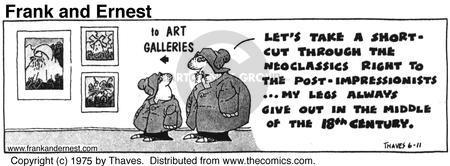 Comic Strip Bob Thaves Tom Thaves  Frank and Ernest 1975-06-11 endurance