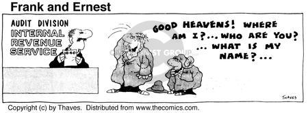 Comic Strip Bob Thaves Tom Thaves  Frank and Ernest 1975-07-31 1040