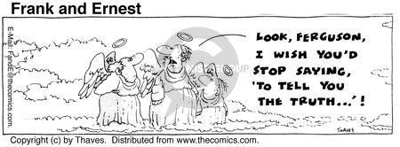 Cartoonist Bob Thaves Tom Thaves  Frank and Ernest 1975-08-01 phrase