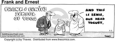 Comic Strip Bob Thaves Tom Thaves  Frank and Ernest 1975-09-03 student teacher