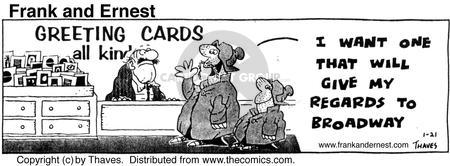 Comic Strip Bob Thaves Tom Thaves  Frank and Ernest 1976-01-21 drama department
