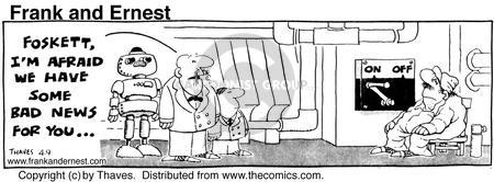 Comic Strip Bob Thaves Tom Thaves  Frank and Ernest 1976-04-09 employee