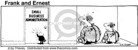 Comic Strip Bob Thaves Tom Thaves  Frank and Ernest 1976-07-15 definition