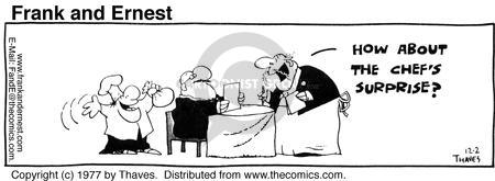 Comic Strip Bob Thaves Tom Thaves  Frank and Ernest 1977-12-02 special