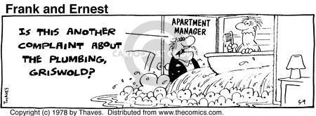 Comic Strip Bob Thaves Tom Thaves  Frank and Ernest 1978-05-09 tub