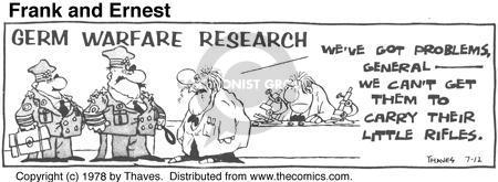 Cartoonist Bob Thaves Tom Thaves  Frank and Ernest 1978-07-12 biology