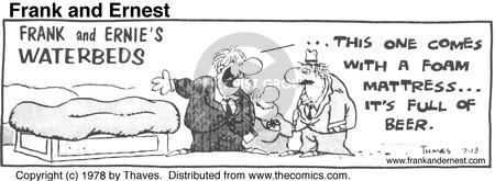 Comic Strip Bob Thaves Tom Thaves  Frank and Ernest 1978-07-13 bubble