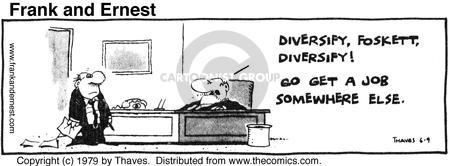 Cartoonist Bob Thaves Tom Thaves  Frank and Ernest 1979-06-09 transition