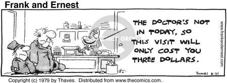 Comic Strip Bob Thaves Tom Thaves  Frank and Ernest 1979-06-27 today