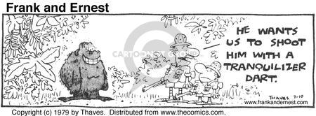 Comic Strip Bob Thaves Tom Thaves  Frank and Ernest 1979-07-10 dull