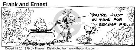 Comic Strip Bob Thaves Tom Thaves  Frank and Ernest 1979-09-15 prepare