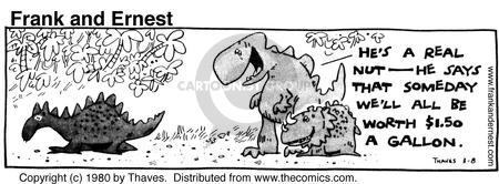 Comic Strip Bob Thaves Tom Thaves  Frank and Ernest 1980-03-08 decomposition