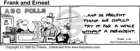 Comic Strip Bob Thaves Tom Thaves  Frank and Ernest 1980-05-24 percent