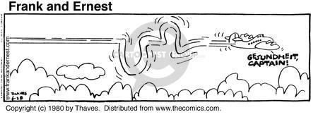 Cartoonist Bob Thaves Tom Thaves  Frank and Ernest 1980-06-28 captain