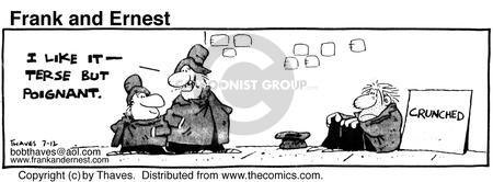 Cartoonist Bob Thaves Tom Thaves  Frank and Ernest 1980-07-12 communicate