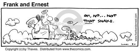 Comic Strip Bob Thaves Tom Thaves  Frank and Ernest 1980-08-02 represent
