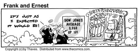 Comic Strip Bob Thaves Tom Thaves  Frank and Ernest 1980-09-19 finance