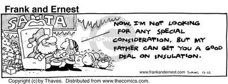 Comic Strip Bob Thaves Tom Thaves  Frank and Ernest 1980-12-23 special